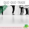 Expanded form, standard form, or exponential form? Quiz-Quiz-Trade Game