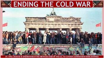 Ending the Cold War (1980-1991) PP Notes for U.S. History