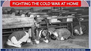 Fighting the Cold War at Home Activity for U.S. History