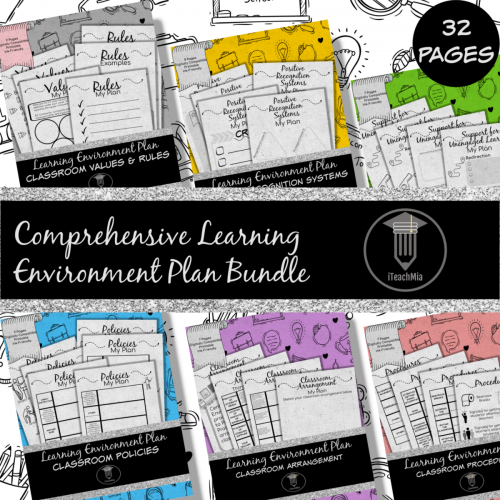 Comprehensive Learning Environment Plan Bundle