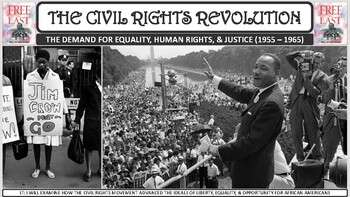The Civil Rights Revolution (1955-1965) PP Notes for U.S. History