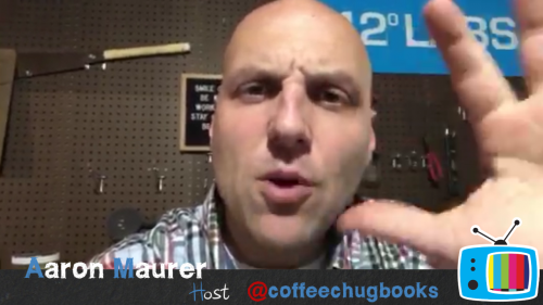 DisruptED TV CoffeeChug - Make Every Space a Makersspace with Aaron Maurer