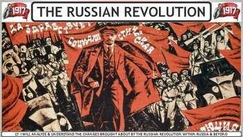 The Russian Revolution of 1917 Activity for World History