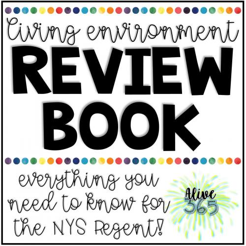 Living Environment Regents Review Book