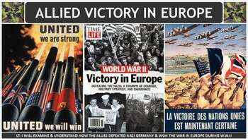 World War II: Allied Victory in Europe PP Notes for U.S. History Class