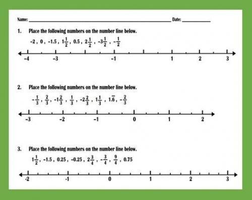 Ordering Fractions And Decimals On Number - Peertopia