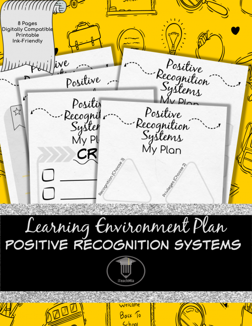 Learning Environment Plan - Positive Recognition Systems