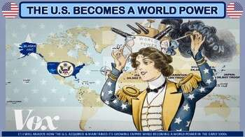 The United States Becomes a World Power PP Notes for U.S. History
