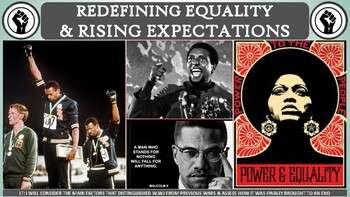 The Civil Rights Era: Redefining Equality (1964-1970) Activity for U.S. History