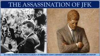 The Assassination of John F. Kennedy PP for U.S. History
