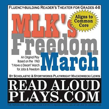 MLK's Freedom March Civil Rights Reader's Theater Play Script