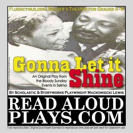 Bloody Sunday Selma March Civil Right Black History Reader's Theater Play Script