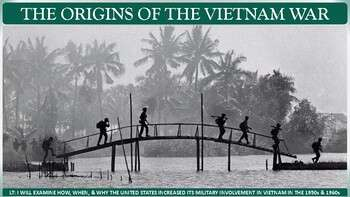 Origins of the Vietnam War Activity for U.S. History