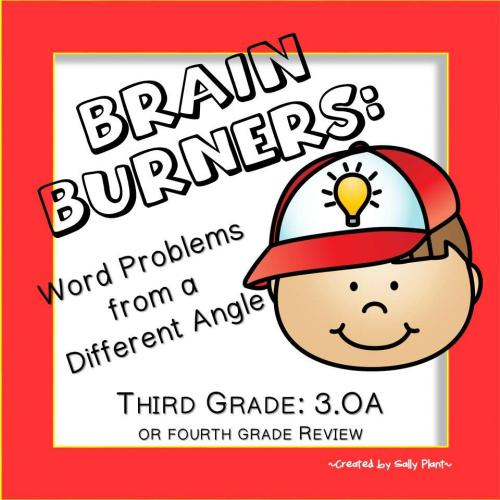 Open Ended Word Problems for Third Grade