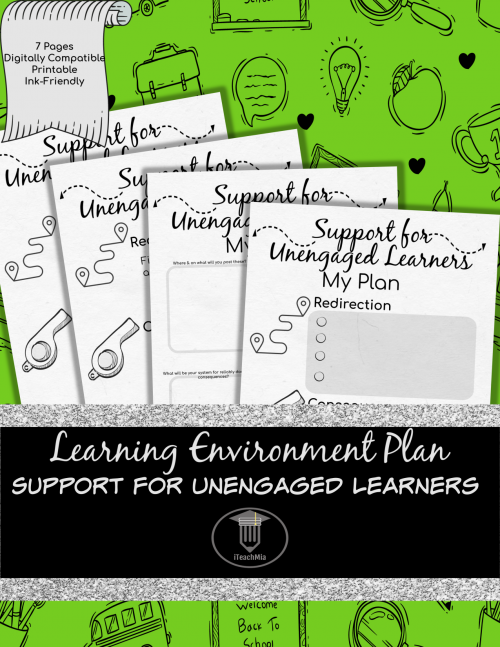 Learning Environment Plan - Support for Unengaged Learners