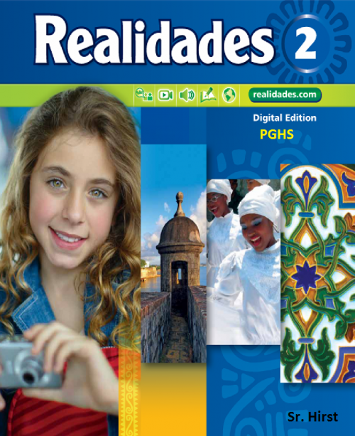 Realidades Level 2 Ch. 7 Core + Guided Practice Workbook ANSWERS