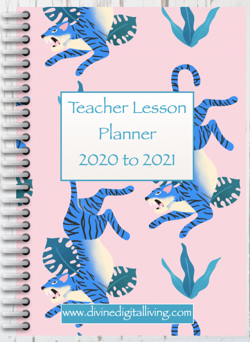 Digital Teacher Lesson Planner TP2   July 2020 - August 2021